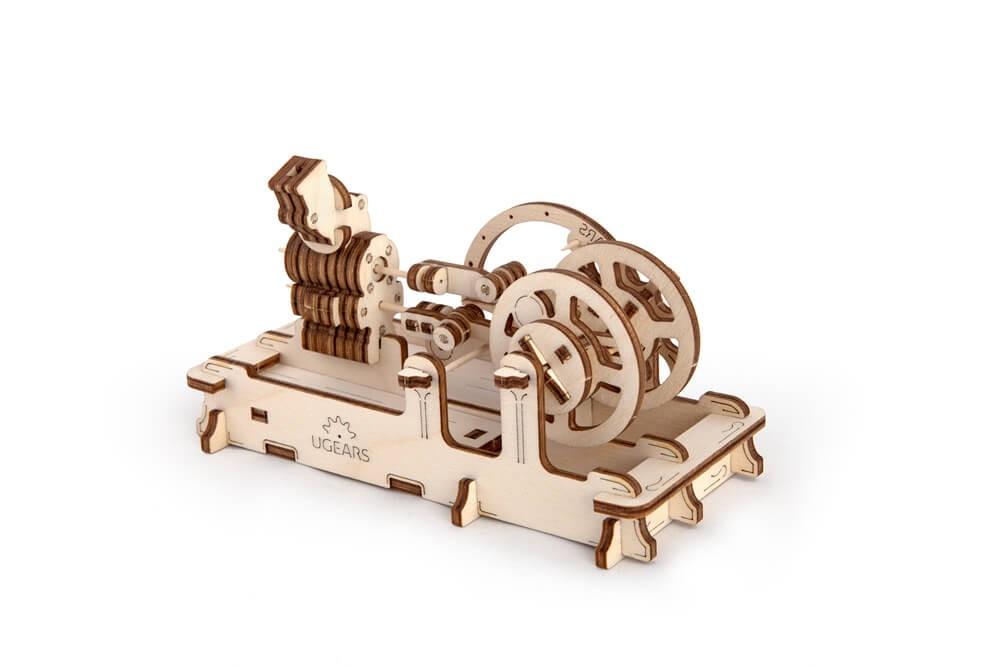 Fun mechanics wooden art by Ugears models